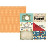 Travel Notes - 4x6 horizontal elements 30,5x30,5 c