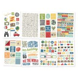 Travel Notes - 4x6 Sticker / 8 sheets
