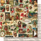 Vintage Christmas - Jolly Holidays 30,5x30,5 cm