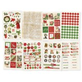 Vintage Christmas - Stickers 8 Sheets