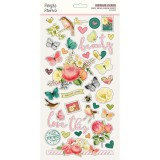 Vintage Garden District - Chipboard Sticker