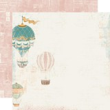 Vintage Traveler - Take Me Away 30,5x30,5 cm