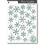 Winter Snowflakes - Memory Box Stencil