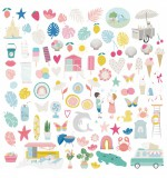Die Cuts Ilustraciones - Summer Stories