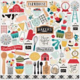 Farmhouse Kitchen - Element Sticker 30,5x30,5 cm