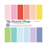 Patterned Paper Pad - Summertime Polka 15,2x15,2