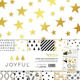 Joyful - Paper and Accessories Kit 30,5x30