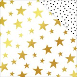 Joyful - Starry Night Foil Paper 30,5x30,5 cm