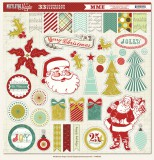 Mistletoe Magic - Chipboard Sticker 30,5x30,5 cm