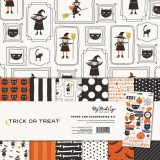 Trick or Treat - Paper and Accessories Kit 30,5x30