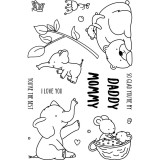 Mommy, Daddy & Me - Clear Stamps