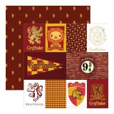 Harry Potter - Gryffindor House Tag 30,5x30,5 cm