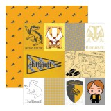Harry Potter - Hufflepuffs 30,5x30,5 cm