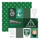 Harry Potter - Slytherin 30,5x30,5 cm