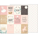 Night Night Baby Girl - Sweet Baby Girl Cards 30,5