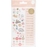 Night Night Girl - Phrases & Icons Stickers