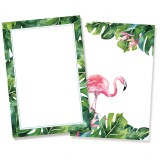 Set of cards Let's flamingle, 6x4""