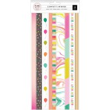 Confetti Wishes - Washi Sticker Sheets
