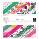 Oh My Heart - Paper Pad 15,2x15,2 cm