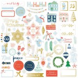 Holiday Vibes - Ephemera Die Cuts