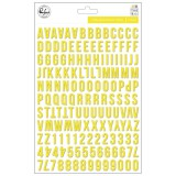The Mix No.2 - Puffy Alpha Sticker yellow