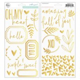 Simple & Sweet - Puffy Accent Stickers