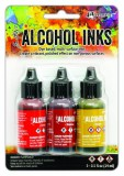 Alcohol Ink Kit - orange / yellow spectrum