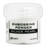 Embossing Powder - silver pearl
