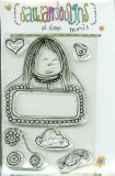 Little Girl - Clear Stamp Minis