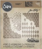 Sizzix Thinlits Die Set - Mixed Media 4PK 660220 T