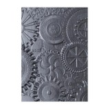 Sizzix 3-D Embossing Folder - Gears 662715 Tim Hol