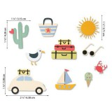 Summer Days - Sizzix Thinlits Die Set