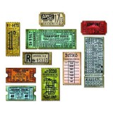 Sizzix Thinlits - Ticket Booth von Tim Holtz