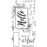 You've Got Mail - Sizzix Clear Stamps