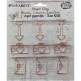 Paperclips Shapes - Rose Gold