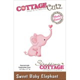Baby Elephant - Cottage Cutz Mini Die