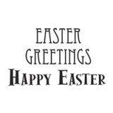 Easter Greetings - Clear Stamps