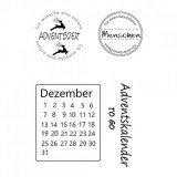 Clear Stamp Set - Advent