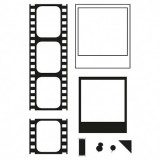 Clear Stamp Set - Film