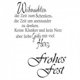 Clear Stamp Set - Frohes Fest