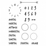 Kalender 2 - Clear Stamp Set von efco