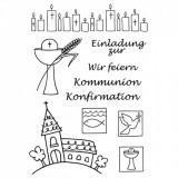 Stempel Clear - Kommunion / Konfirmation von efco