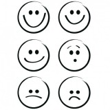 Clear Stamp Set - Smileys