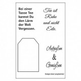 Clear Stamp Set - Teesprüche