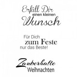 Clear Stamp Set - Weihnachten 7