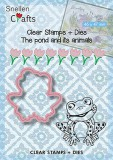 Nellies Choice Stamps & Dies Frog