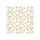 Paradise Finds - Gold Foil Shells Acetate 30,5x30,