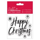 Create Christmas - Happy Christmas Clear Stamp
