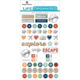 Travel - Life Organized Planner Stickers