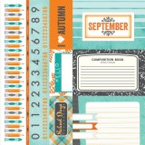Calendar Cut Aparts - September 30,5x30,5 cm